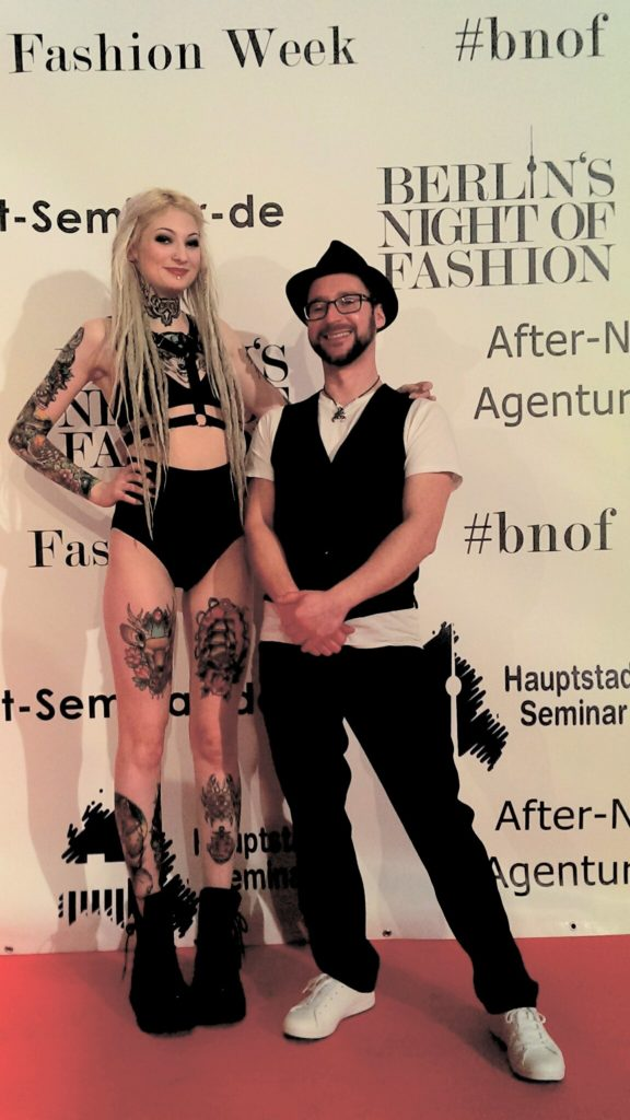 mario mit gothic model fashion week berlin
