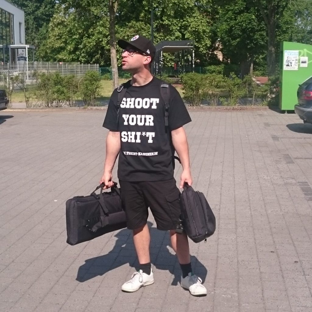 shoot your shi*t t-shirt kanonen berlin fanshirt