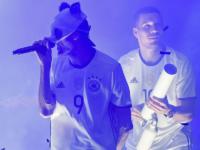 rapper cro lukas podolski t-shirt kanone die mannschaft